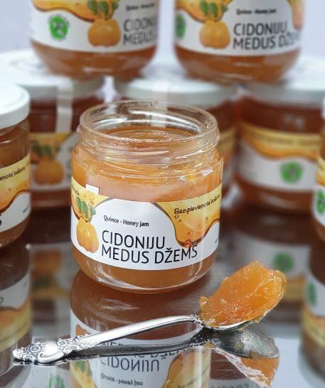 Cidoniju medus džems